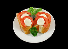 Tomato And Bocconcini Bites Royalty Free Stock Photography