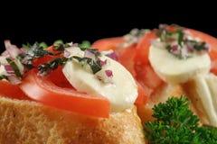 Tomato And Bocconcini Bites Stock Photography