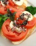 Tomato And Bocconcini Bites Royalty Free Stock Photography