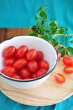 Tomato in bowl Royalty Free Stock Photos