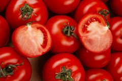 Tomato in a box Royalty Free Stock Images