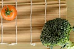 Tomato broccoli vegetable background Royalty Free Stock Photo