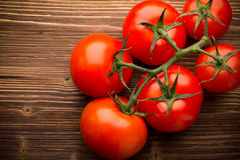 Tomato bunch. Royalty Free Stock Image