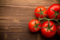 Tomato bunch. Royalty Free Stock Images
