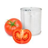 Tomato can Stock Image