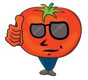 Tomato cartoon character Royalty Free Stock Photos