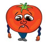 Tomato cartoon character Stock Photography