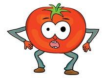 Tomato cartoon character Royalty Free Stock Photography