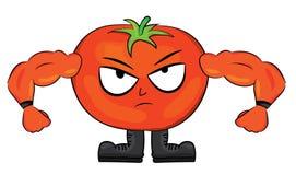 Tomato cartoon character Royalty Free Stock Image