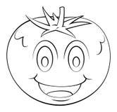 Tomato Cartoon Royalty Free Stock Images