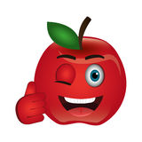 Tomato character  icon Stock Photography