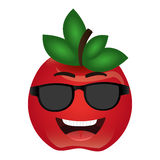 Tomato character isolated icon Royalty Free Stock Photos