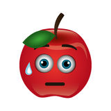 Tomato character isolated icon Stock Image