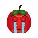 Tomato character isolated icon Stock Photo