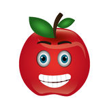 Tomato character isolated icon Royalty Free Stock Photography