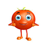 Tomato character with thumbs up pose Stock Photo