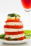 Tomato and cheese Royalty Free Stock Images