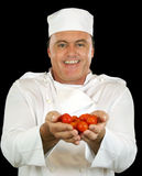 Tomato Chef Royalty Free Stock Photo