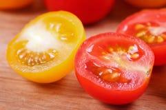 Tomato cherry. Fresh ripe tomato cherry close up Stock Photography