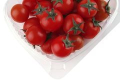 Tomato cherry in box Royalty Free Stock Photo