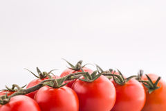 Tomato cherry isolated Stock Photography