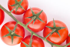 Tomato cherry isolated Royalty Free Stock Images