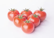 Tomato cherry isolated Stock Images