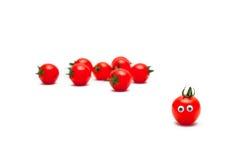 Tomato cherry red Stock Photo