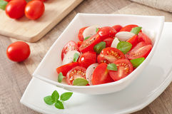 Tomato cherry salad Royalty Free Stock Photos