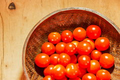 Tomato cherry Stock Photo