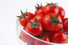 Tomato cherry in vase Stock Photography