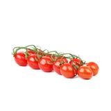 Tomato cherry. On white background Royalty Free Stock Image
