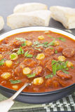 Tomato Chorizo Chickpea Soup Stock Images
