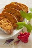 Tomato Ciabatta Stock Photo