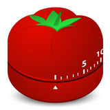 Tomato clock Royalty Free Stock Photo