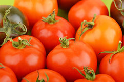 Tomato, close up Stock Images
