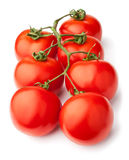 Tomato cluster Royalty Free Stock Photo