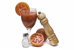 Tomato cocktail. Stock Images