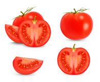 Tomato collage Stock Images