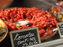 Tomato confit Stock Image
