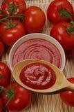 Tomato cram. Stock Image
