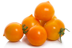 Tomato cultivar Duckling Stock Photos
