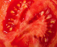 Tomato cut Royalty Free Stock Photo