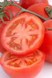 Tomato cut. Group of red tomatoes cut Royalty Free Stock Image