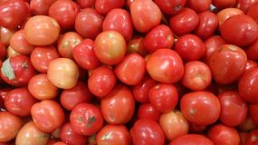 Tomato detail texture and background Stock Photo