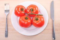 Tomato diet Royalty Free Stock Photo