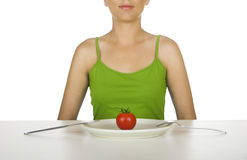Tomato diet Stock Images