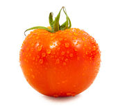 tomato with drops Royalty Free Stock Photos