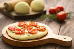 Tomato Flatbread Stock Images