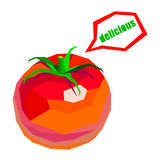 Tomato. food vegetable red organic healthy vegetarian illustration Stock Photos